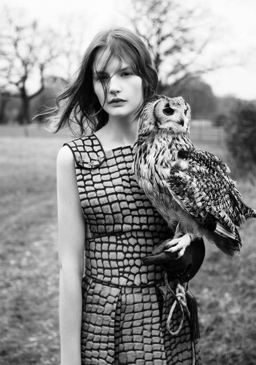 Model: Sara Blomqvist Photographer: Ben Toms