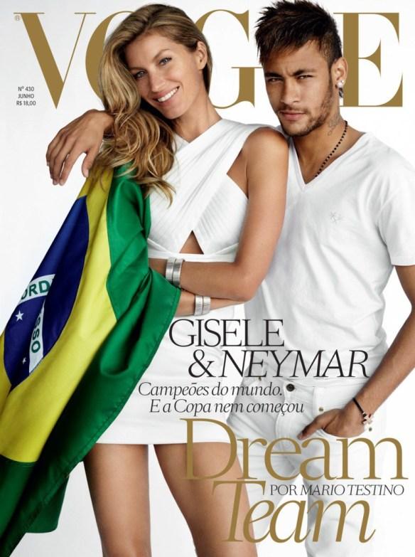 Gisele Bündchen and Neymar